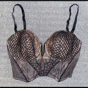 NWOT Victoria's Secret Longlined multiway bra
